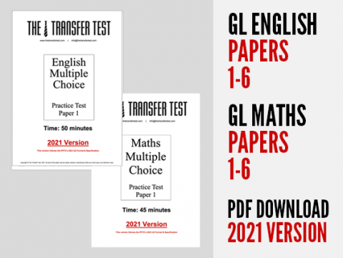 GL English & Maths Papers 1-6 (2021 Version)L English & Maths Papers 1-18 (2020 Version)