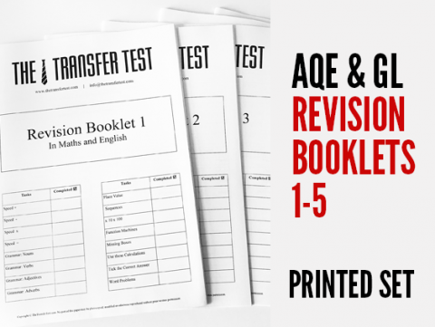 AQE & GL Revision Booklets