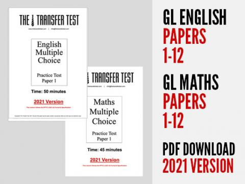 GL English & Maths Papers 1-12 (2021 Version)