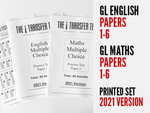 GL English & Maths Practice Papers 1-6 (Printed)