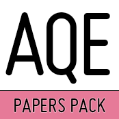 AQE (CEA) Practice Test Papers Pack 5