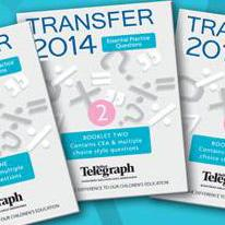 Free Transfer Test Practice Booklets in Belfast Telegraph