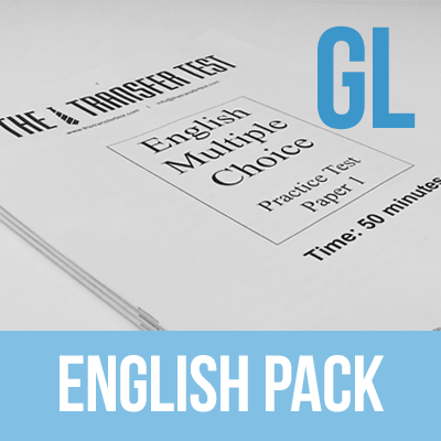PPTC GL (Multiple Choice) English Practice Test Paper Pack 1