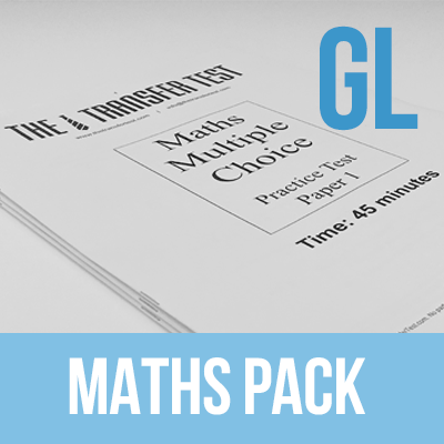 PPTC GL (Multiple Choice) Maths Practice Test Paper Pack 1
